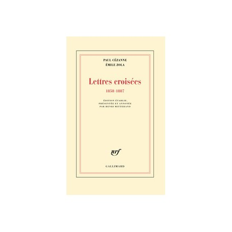 Lettres croisées - Paul Cézanne &  Émile Zola - Sortie le 15 Septembre